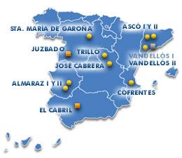 Centrales nucleares en Espa?a